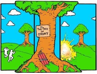 The Tree of Irony